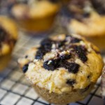 Light and Lemony Blueberry Muffins